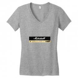 marshall amplification Women's V-Neck T-Shirt | Artistshot