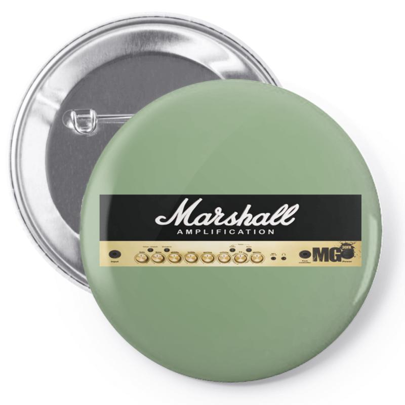Marshall Amplification Pin-back Button | Artistshot