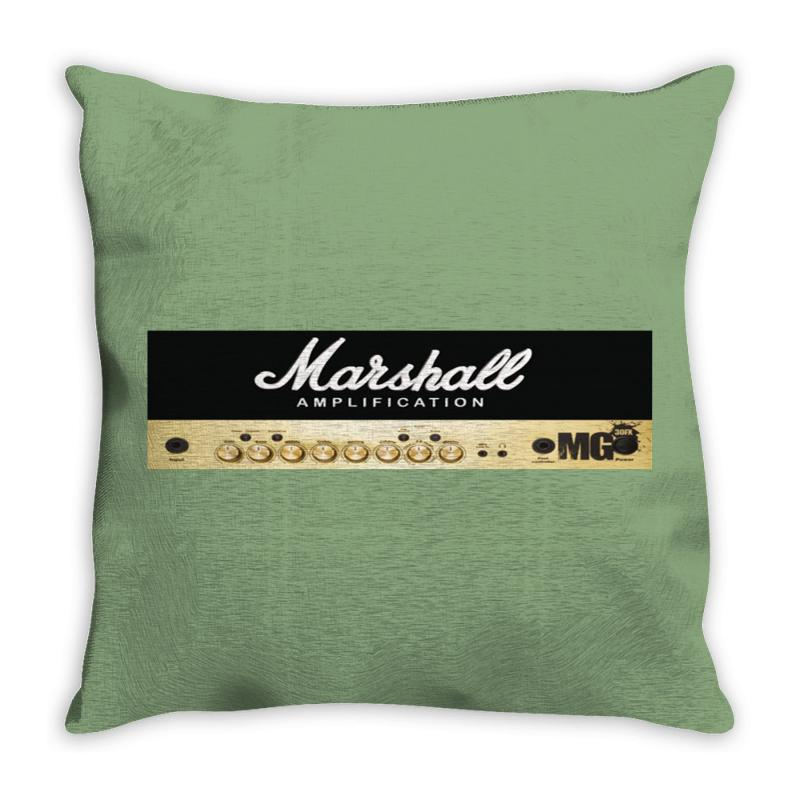 Marshall Amplification Throw Pillow | Artistshot