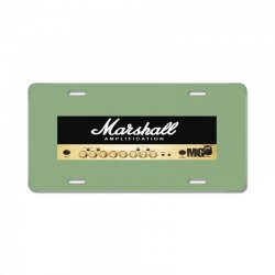 marshall amplification License Plate | Artistshot