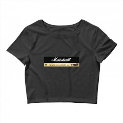 marshall amplification Crop Top | Artistshot