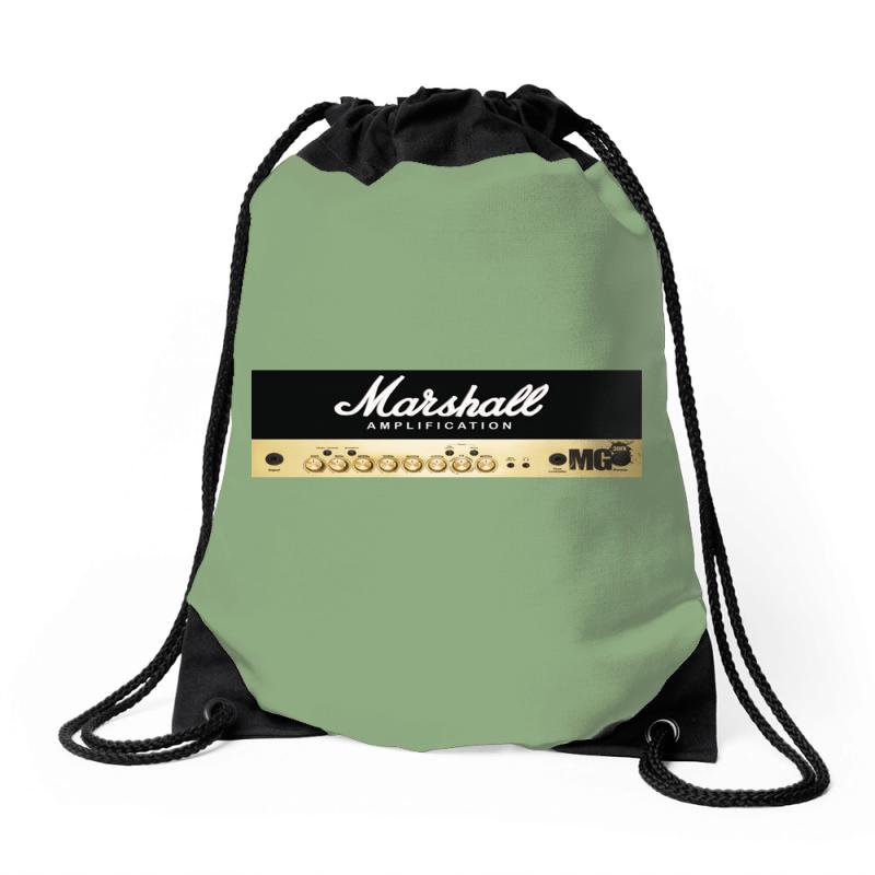 Marshall Amplification Drawstring Bags | Artistshot