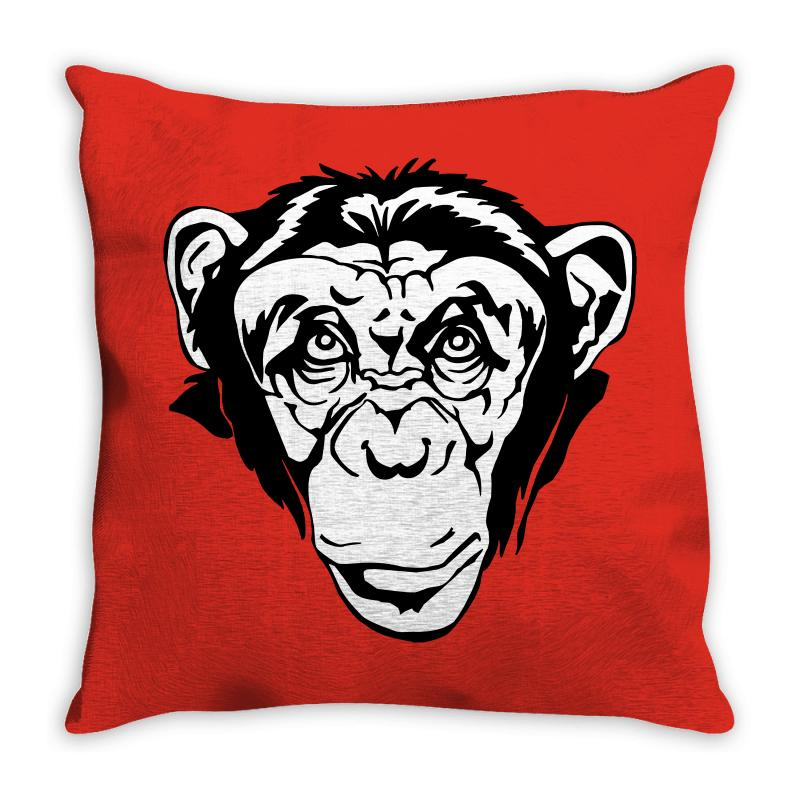 Monkey Business Throw Pillow | Artistshot