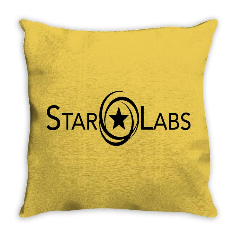 Star Laboratories Throw Pillow | Artistshot
