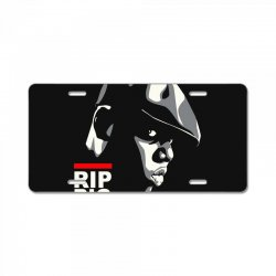 biggie stencil License Plate | Artistshot