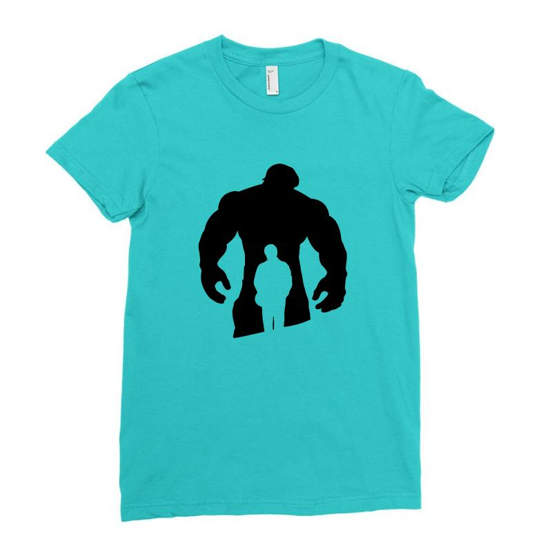 Bruce Banner's Shirt Ladies Fitted T-shirt | Artistshot