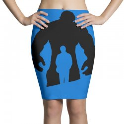 bruce banner's shirt Pencil Skirts | Artistshot