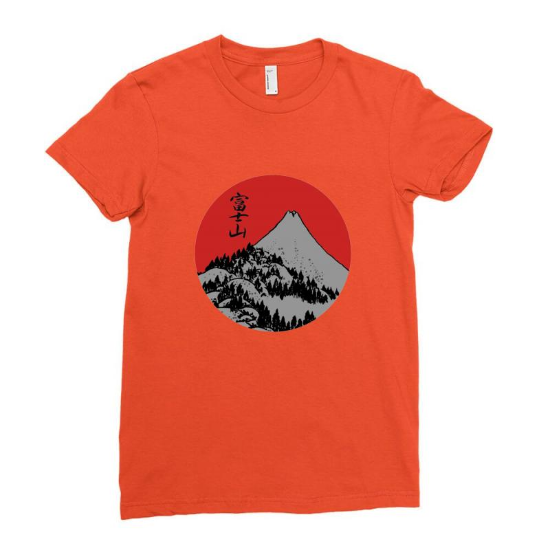 Fuji Ladies Fitted T-shirt | Artistshot