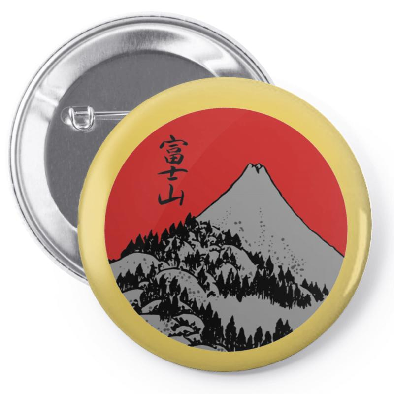 Fuji Pin-back Button | Artistshot