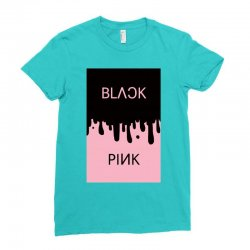 black and pink  blackpink Ladies Fitted T-Shirt | Artistshot