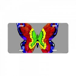 nick mason butterfly License Plate | Artistshot
