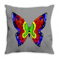 nick mason butterfly Throw Pillow | Artistshot