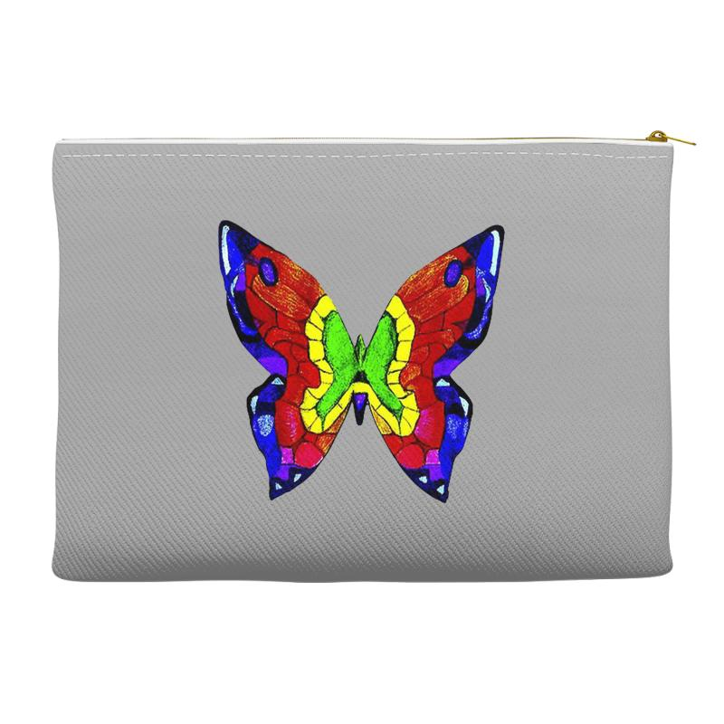 Nick Mason Butterfly Accessory Pouches | Artistshot