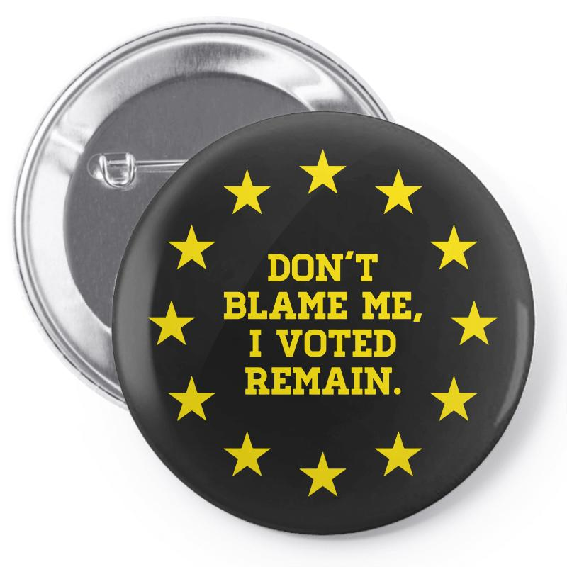 Peoples Vote Remain In Eu Pin-back Button | Artistshot