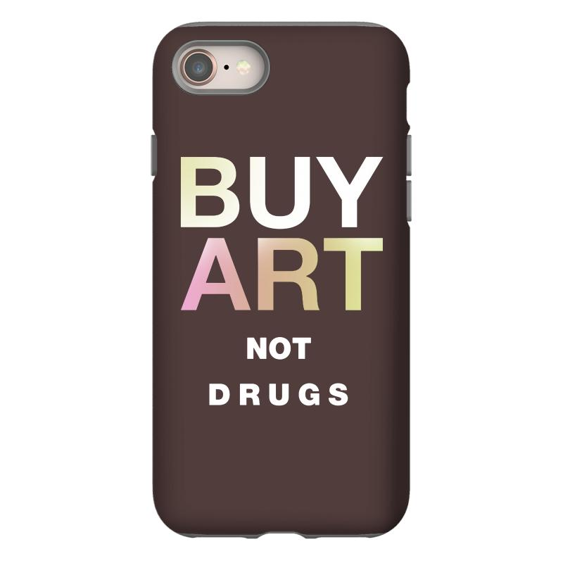 Buy Art Not Drugs Iphone 8 Case | Artistshot
