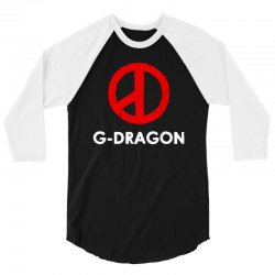 g dragon   cool peace sign 3/4 Sleeve Shirt | Artistshot