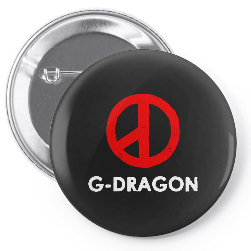 G Dragon   Cool Peace Sign Pin-back Button | Artistshot