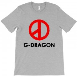 g dragon   red peace sign T-Shirt | Artistshot
