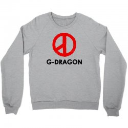 g dragon   red peace sign Crewneck Sweatshirt | Artistshot