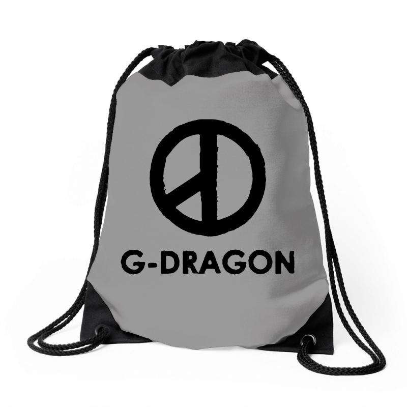 G Dragon Coup Peace Sign Drawstring Bags | Artistshot
