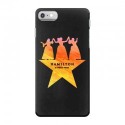 hamilton an american musical   golden iPhone 7 Case | Artistshot