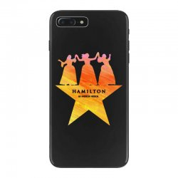 hamilton an american musical   golden iPhone 7 Plus Case | Artistshot