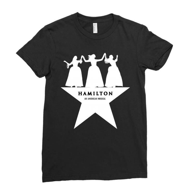 Hamilton An American Musical Ladies Fitted T-shirt | Artistshot