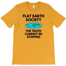 flat earth merchandise T-Shirt | Artistshot