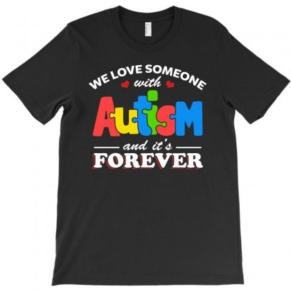 Autism Awareness Shirt   Family Forever Autism T Shirt T-shirt Designed By Hung
