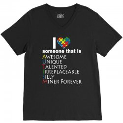 love   autism awareness t shirt V-Neck Tee | Artistshot