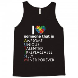 love   autism awareness t shirt Tank Top | Artistshot
