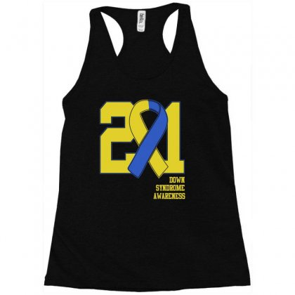 Down Syndrome Awareness T Shirt Racerback Tank Designed By Hung