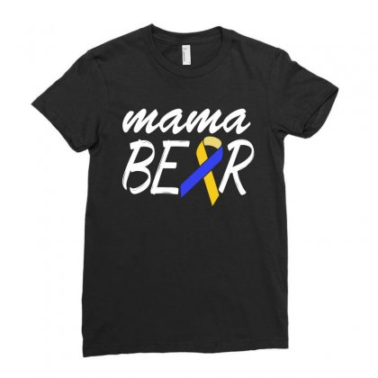 Down Syndrome Awareness Shirts   Down Syndrome Mama Ladies Fitted T-shirt Designed By Hung