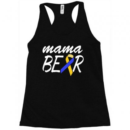 Down Syndrome Awareness Shirts   Down Syndrome Mama Racerback Tank Designed By Hung