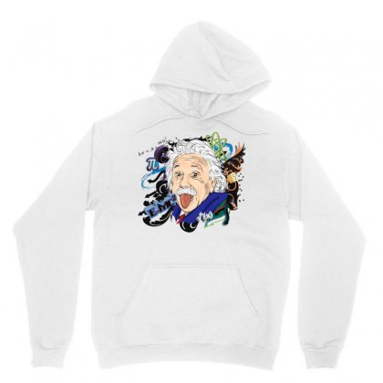 Albert Einstein Physicist Unisex Hoodie Designed By Salmanaz