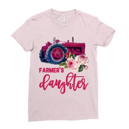 Farmer's Daughter Ladies Fitted T-shirt Designed By Nurbetulk