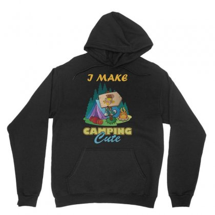 My Camping Is Cute T Shirts, Camping Quote T Shirts Unisex Hoodie Designed By Hung