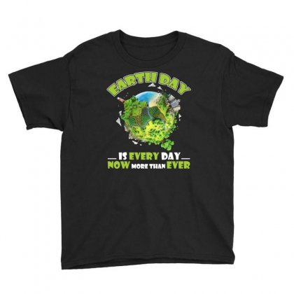 Earth Day Is Every Day T Shirt Youth Tee Designed By Hung