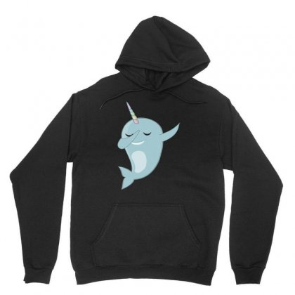 Funny Narwhal Dab Shirt   Dabbing Narwhal Shirt Unisex Hoodie Designed By Hung