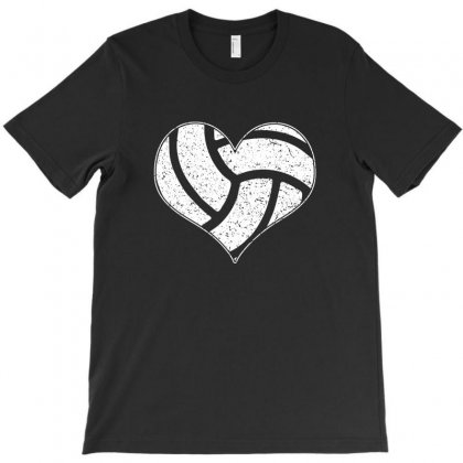 Volleyball Heart T Shirt Nice Gift For Volleyball Lovers T-shirt Designed By Hung