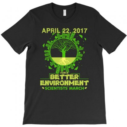 Scientists March For Environment Science On Washington Dc T-shirt Designed By Hung