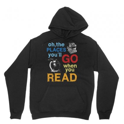 Lucky To Be A Reading Teacher Tee Shirt Unisex Hoodie Designed By Hung
