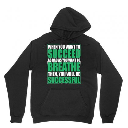 Entrepreneur Motivation Quotes T Shirt   Be Successful Unisex Hoodie Designed By Hung