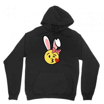 Easter Bunny Emoji T Shirt Unisex Hoodie Designed By Hung