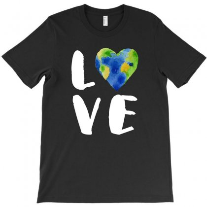 Vintage Love Your Earth Tshirt T-shirt Designed By Hung