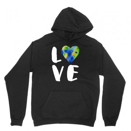 Vintage Love Your Earth Tshirt Unisex Hoodie Designed By Hung