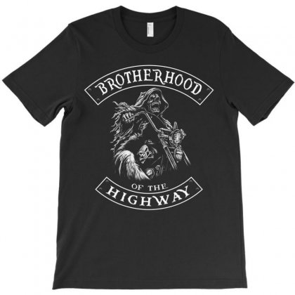 Brotherhood Of The Highway T-shirt Designed By Anrora