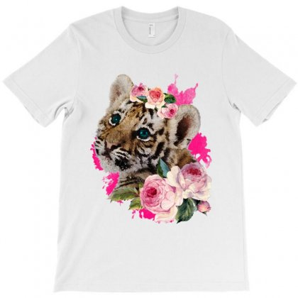 Baby Tiger T-shirt Designed By Hasret