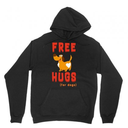Free Hugs For Dog Tshirt Unisex Hoodie Designed By Hung