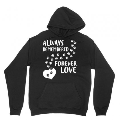 Always Remember Forever Love Dog Paws Tshirt Unisex Hoodie Designed By Hung